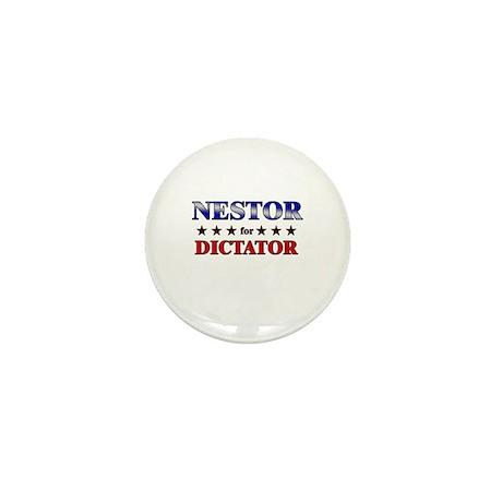 NESTOR for dictator Mini Button