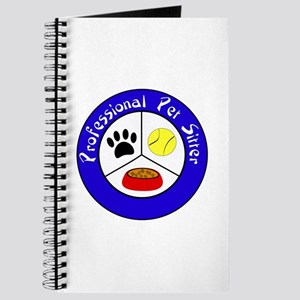 Professional Pet Sitter Crest Journal