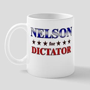 NELSON for dictator Mug