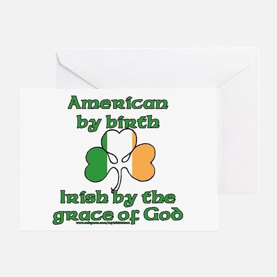 Funny Irish American Joke Greeting Card