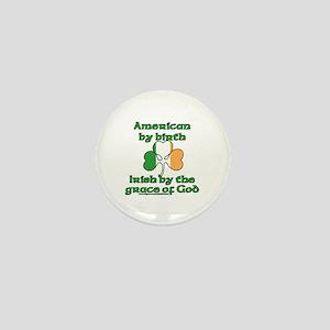 Funny Irish American Joke Mini Button