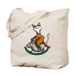 Rocking Cat Tote Bag