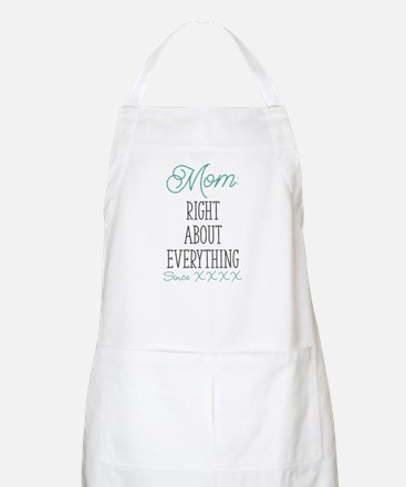 Right About Everything Personalized Light Apron