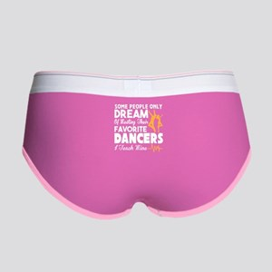 I Teach My Favorite Dancers T Sh Women's Boy Brief