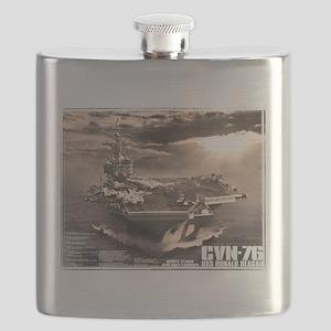 Aircraft carrier Ronald Reagan Flask