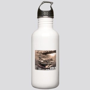 Aircraft carrier Ronald Reagan Water Bottle