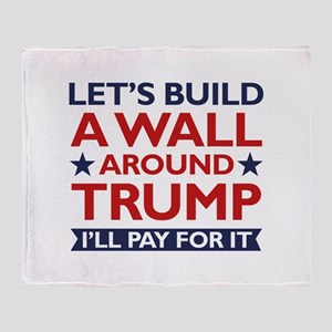 A Wall Around Trump Stadium Blanket