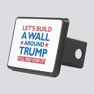 A Wall Around Trump Rectangular Hitch Cover
