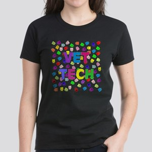 Vet Tech W/Paws T-Shirt