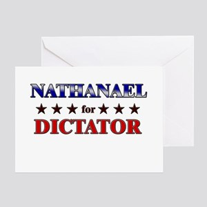 NATHANAEL for dictator Greeting Card