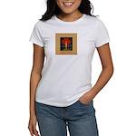 Christmas Candle Women's T-Shirt