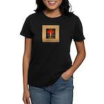 Christmas Candle Women's Dark T-Shirt