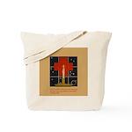 Christmas Candle Tote Bag