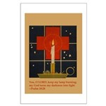 Christmas Candle Large Poster
