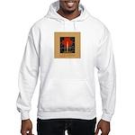 Christmas Candle Hooded Sweatshirt