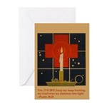 Christmas Candle Greeting Cards (Pk of 10)