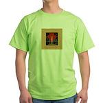 Christmas Candle Green T-Shirt