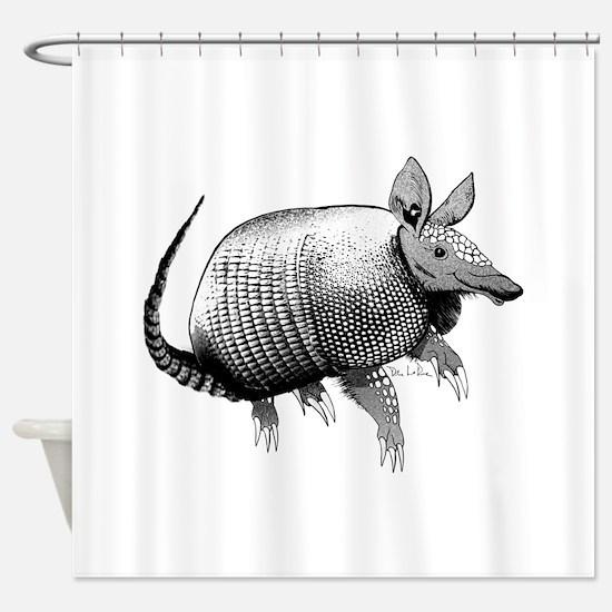 armadillo3.jpg Shower Curtain
