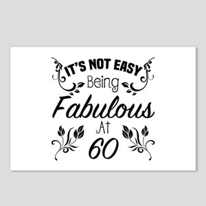 Fabulous 60th Birthday Postcards (Package of 8)