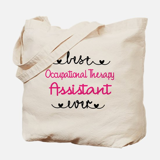 Occupational Therapy Assistant Tote Bag