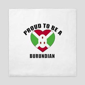Burundian Patriotic Designs Queen Duvet