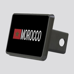 Morocco: Moroccan Flag & M Rectangular Hitch Cover
