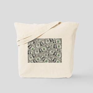 100 Bill Money ZERO Value Donald Trump Tote Bag