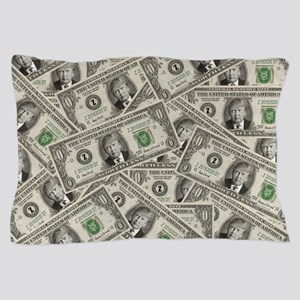 100 Bill Money ZERO Value Donald Trump Pillow Case