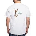 Climber Ferret White T-Shirt