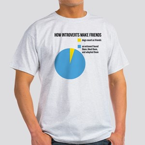 How introverts make friends T-Shirt