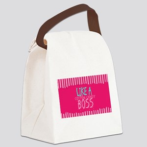 LIKE A COTTON CANDY BOSS Canvas Lunch Bag