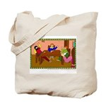 Three Silly People Child's Tote Bag