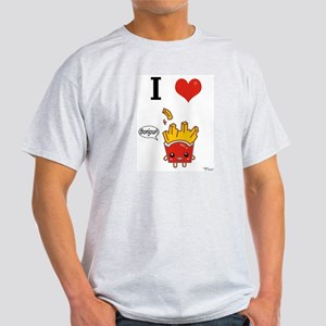 I (Heart) French Fries! Light T-Shirt