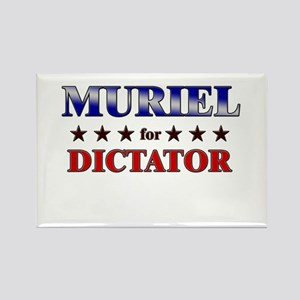 MURIEL for dictator Rectangle Magnet