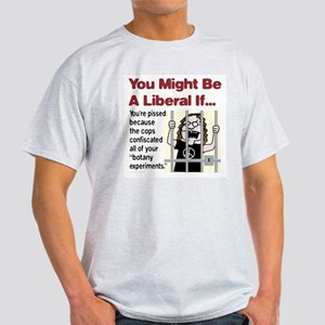 "Liberal ""Botany Experiments"" Light T-Shirt"