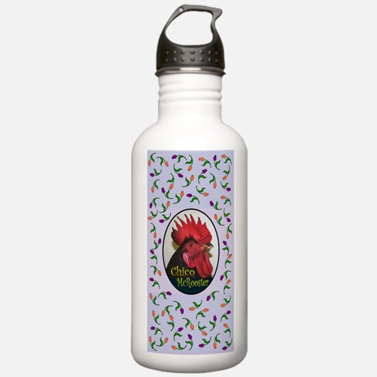 Chico McRooster Water Bottle