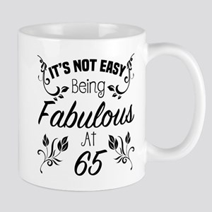 Fabulous 65th Birthday Mugs