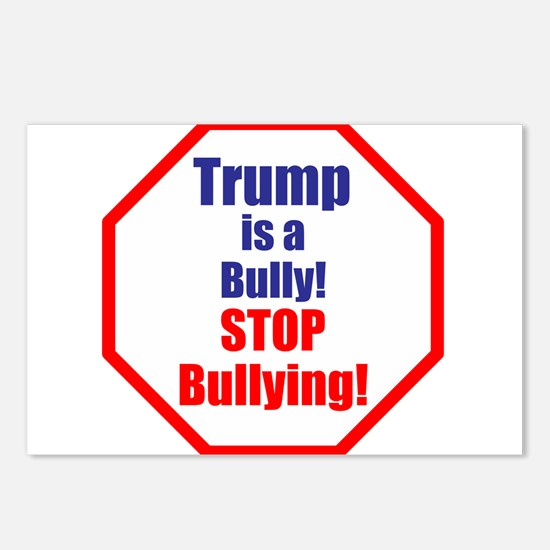 Stop bullying, stop Trump Postcards (Package of 8)