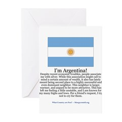 Argentina Greeting Cards (Pk of 20)