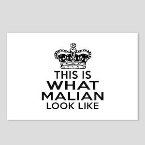 Mali Look Like Designs Postcards (Package of 8)