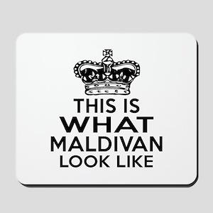 Maldives Look Like Designs Mousepad