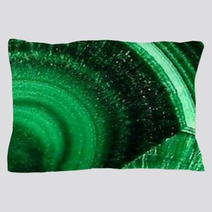 bohemian tribal gemstone emerald Pillow Case