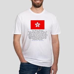Hong Kong Fitted T-Shirt