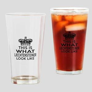 Liechtenstein Look Like Designs Drinking Glass