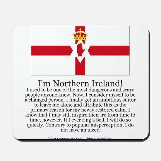Northern Ireland Mousepad
