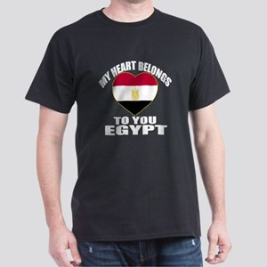 My Heart Belongs To You Egypt Country Dark T-Shirt