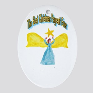 Best Christmas Pageant Ornament (Oval)