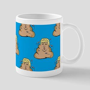 poo donald trump Mugs