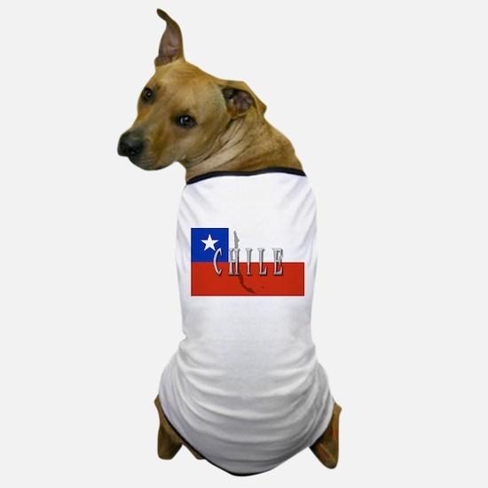 Chile Flag Extra Dog T-Shirt