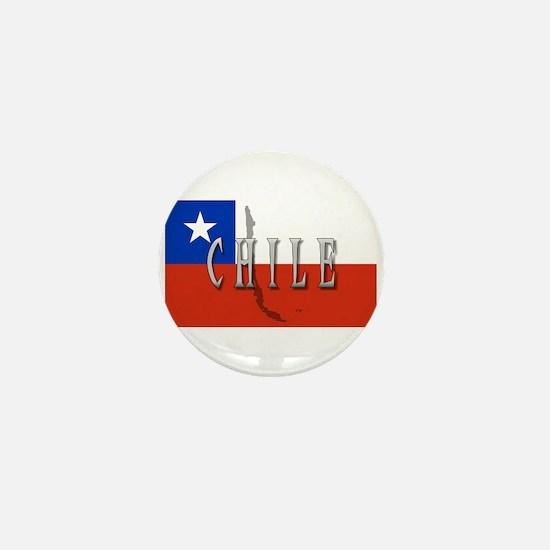 Chile Flag Extra Mini Button
